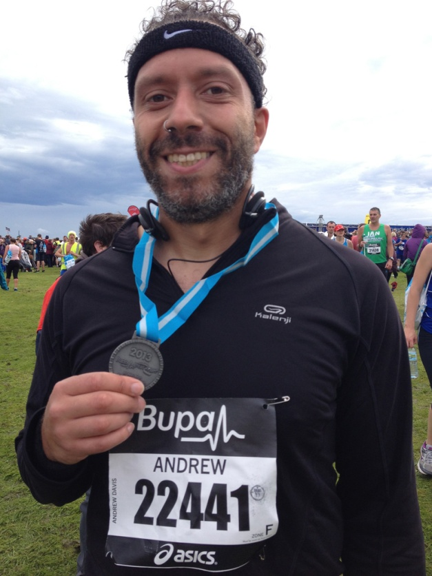 Great North Run - Medal
